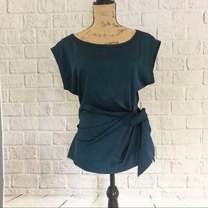 New York & Company scoop neck blouse